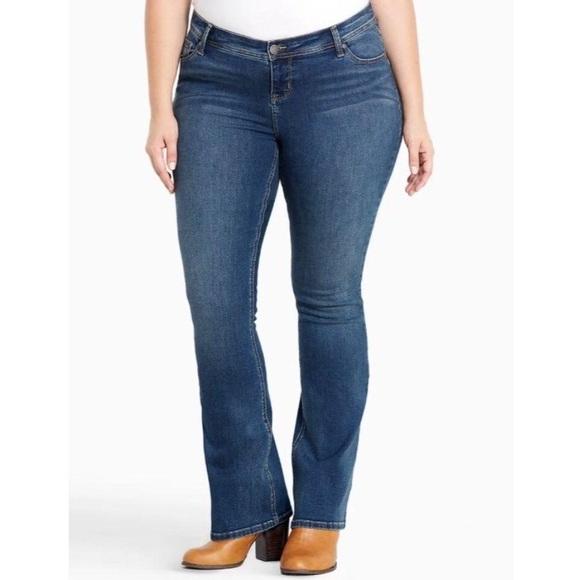 Torrid Slim Bootcut Jeans Size 10R